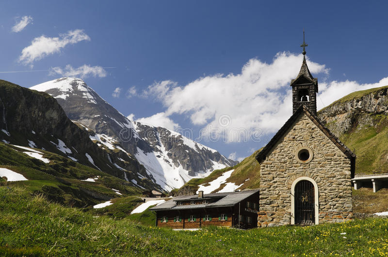 Download Little Nice Church High In The Mountains Stock Image - Image: 23429709