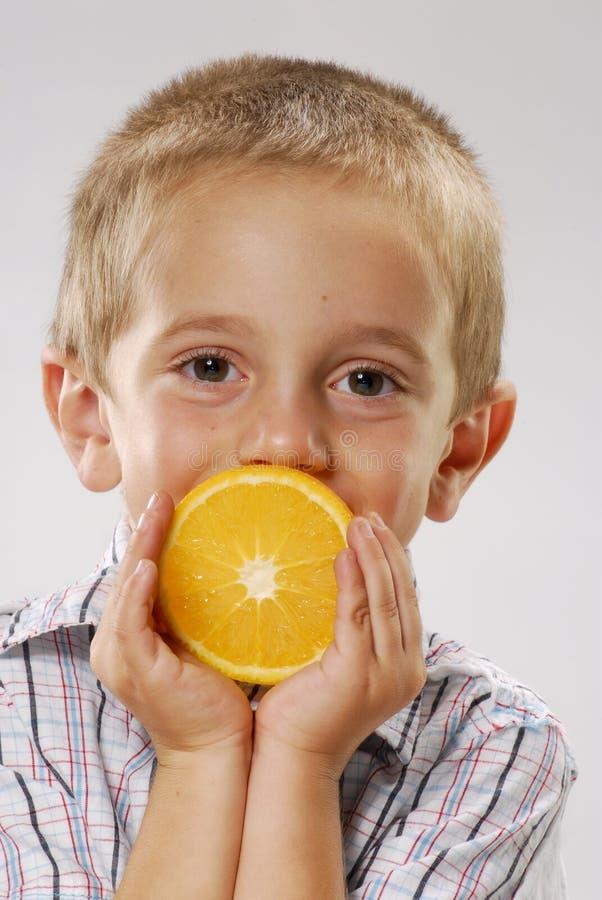 Little orange. stock photography