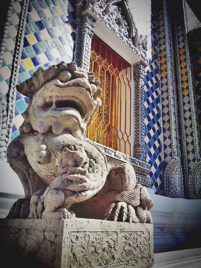 A little part in wat phra keaw stock images
