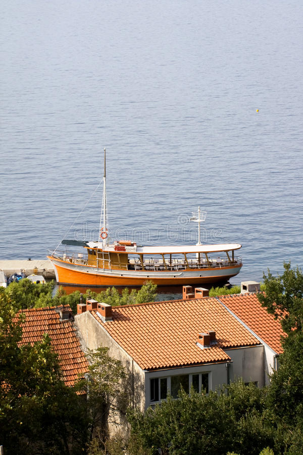 Download Little Passenger Ship stock image. Image of nautical - 16440047