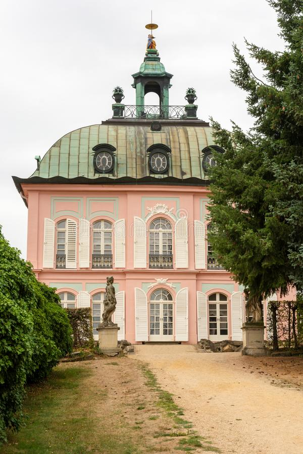 Little Pheasant Castle in Moritzburg royalty free stock images