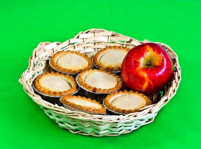 apple pies stock photo