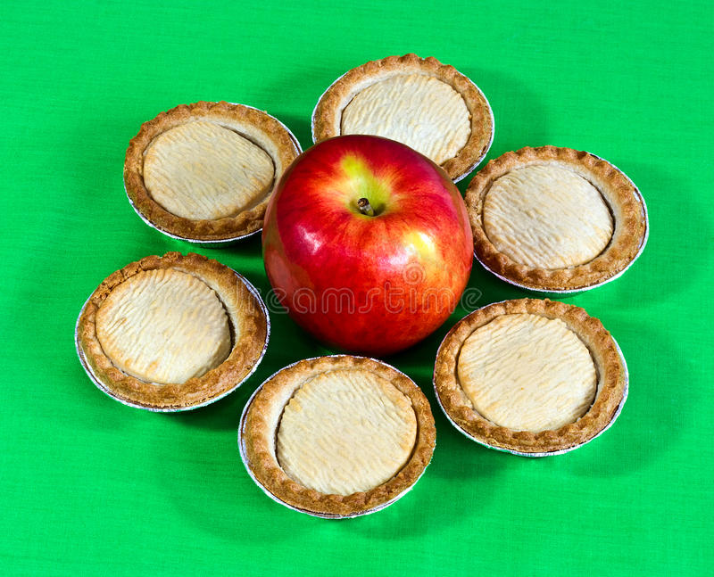 Download Little apple pies stock photo. Image of closeup, little - 25724448