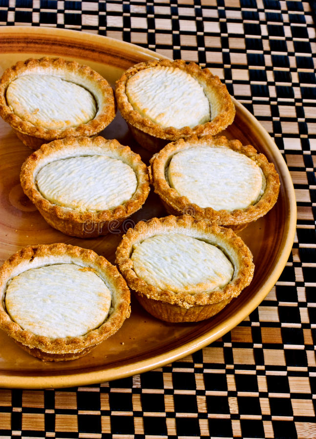 Little fruit pies royalty free stock photography