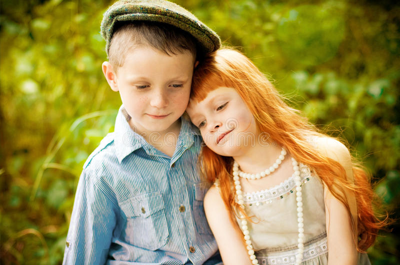 Download Little boy and girl stock photo. Image of child, healthy - 30251400