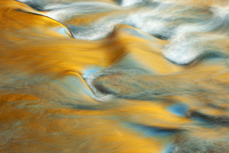 Little Pigeon River Cascade stock photography