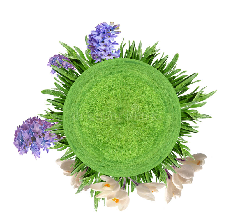 Download Little planet stock illustration. Image of grass, imaginary - 21020728