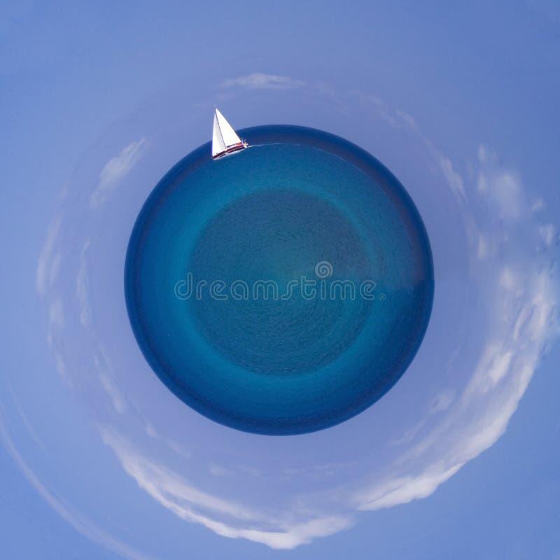 Little Planet Sea Royalty Free Stock Photo