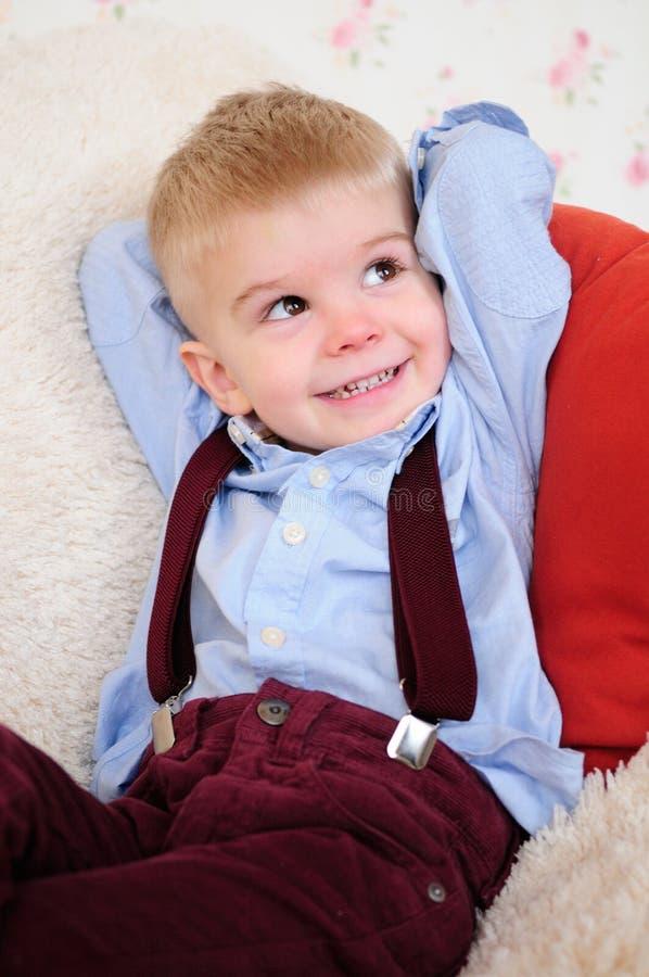 Download Little positive boy stock photo. Image of laughing, joyful - 23988134