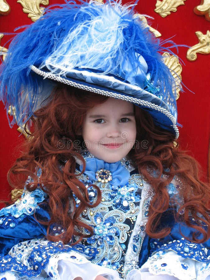 Download Little Princess stock image. Image of aristocratic, hair - 12720799