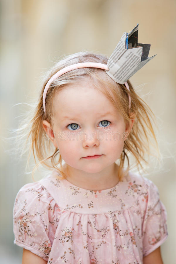 Little princess stock image