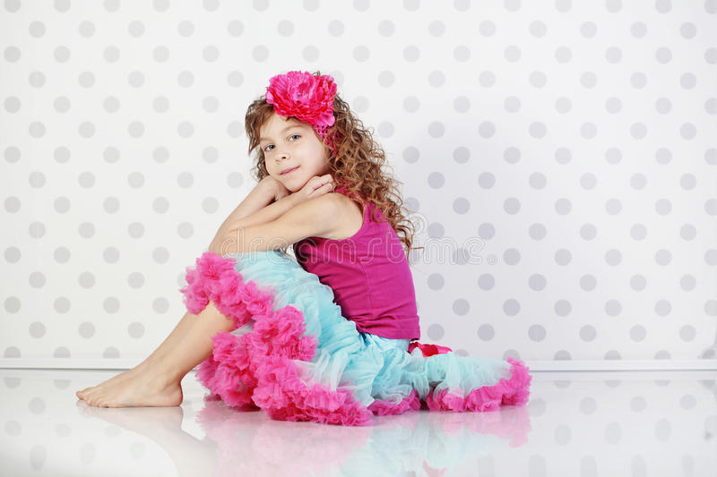 Download Little princess stock image. Image of childhood, beauty - 23808705