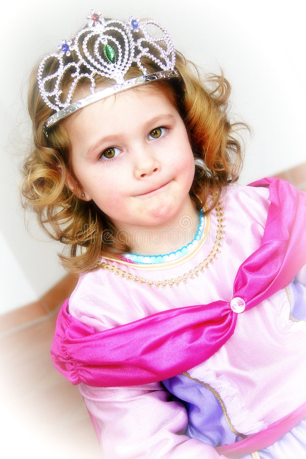 Download Little princess stock image. Image of tresses, princess - 7044405