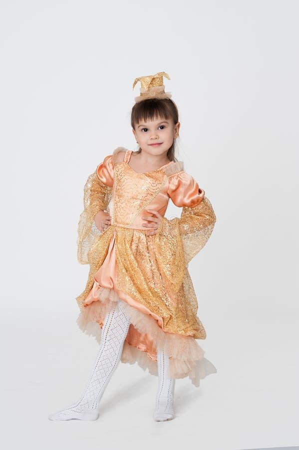 Download Little Princess Carnival Costume Stock Image - Image: 27801681