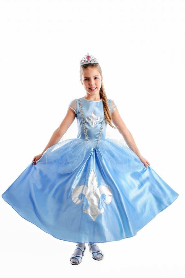 Little princess carnival costume stock image