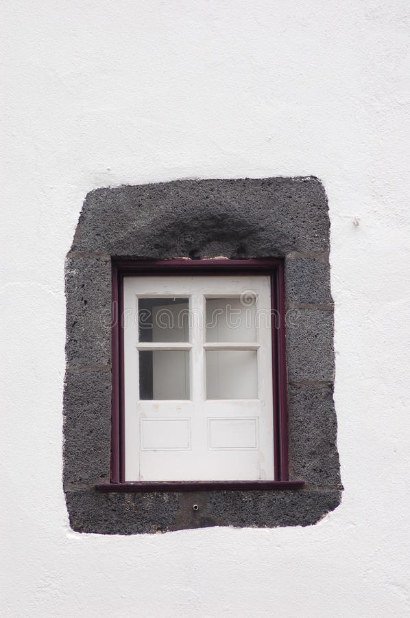Little Purple Window Royalty Free Stock Photo