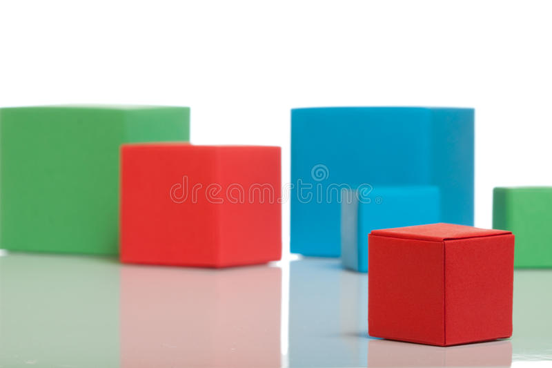 Little red box royalty free stock photos