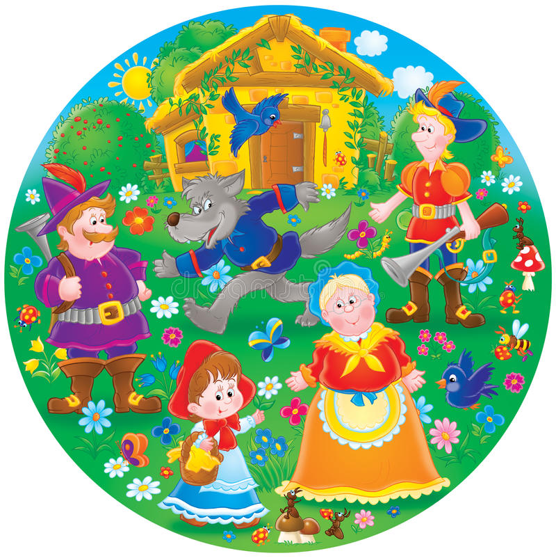 Little Red Riding Hood Stock Photos