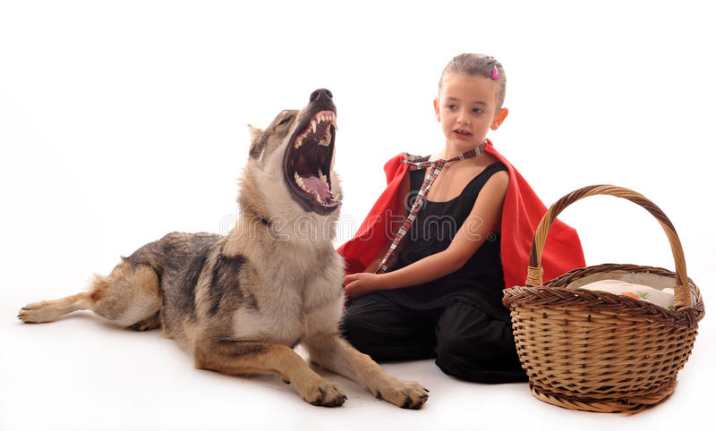Download Little Red Riding Hood Stock Image - Image: 12032491