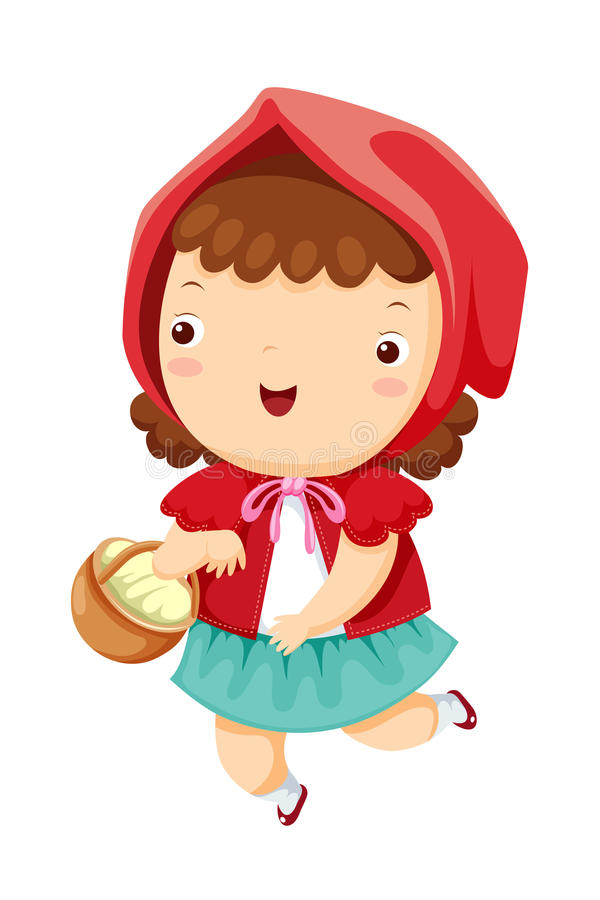 little red riding hood stock vector illustration of cap vector image camp vector anti balling plates