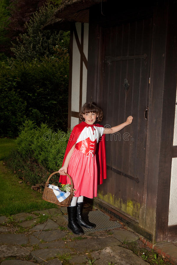 Download Little Red Riding Hood Arriving Stock Images - Image: 13699304