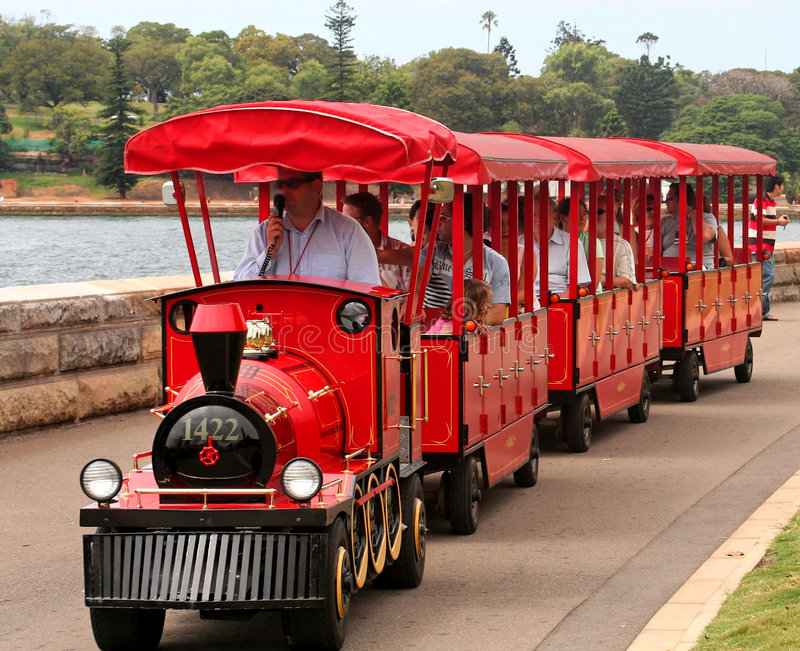 Little red train royalty free stock photography