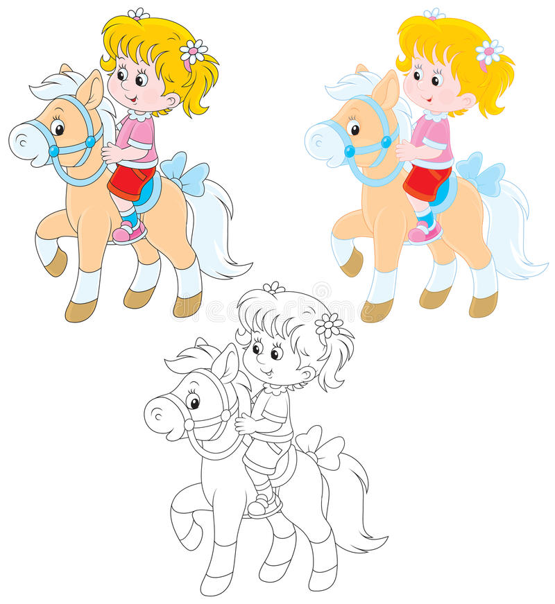 Free Little Rider Stock Image - 36967091