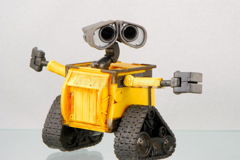 A little robot royalty free stock image