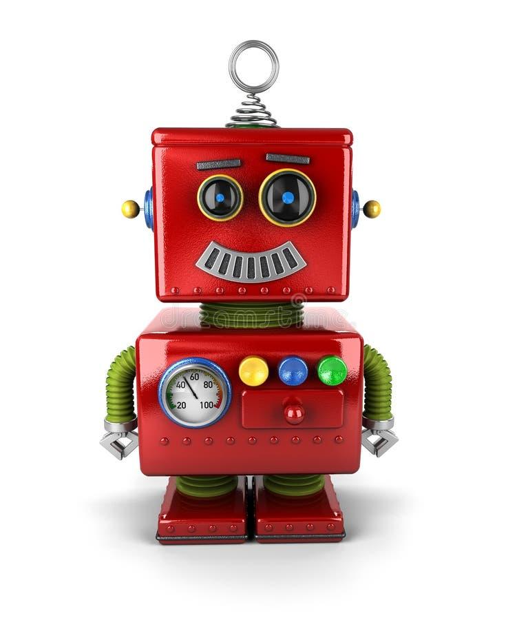 Little robot royaltyfri illustrationer