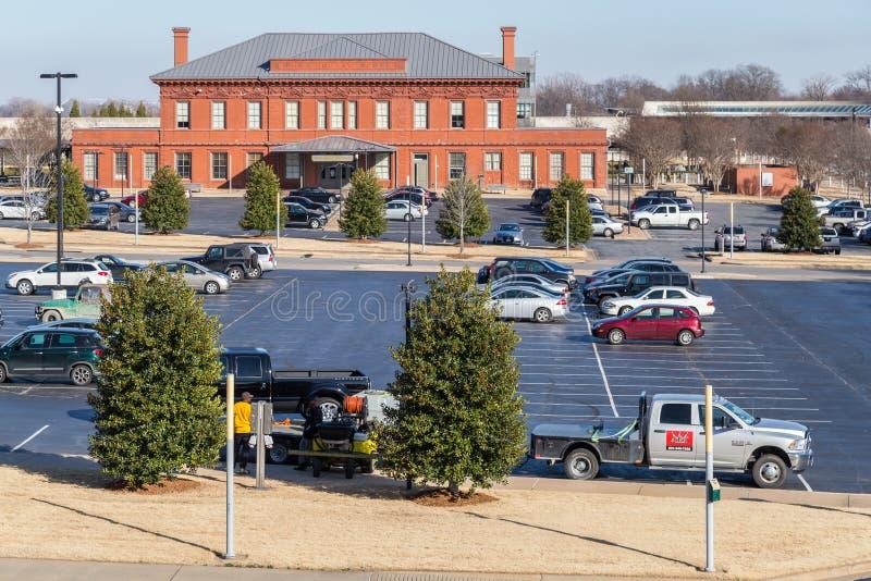Little Rock, AR/USA - vers en février 2016 : Clinton School de service public à Little Rock, Arkansas photos stock