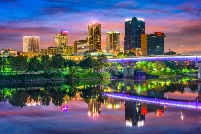 Little Rock, Arkansas foto de archivo libre de regalías