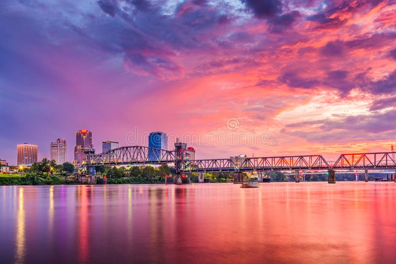 Little Rock, Arkansas, Etats-Unis images libres de droits
