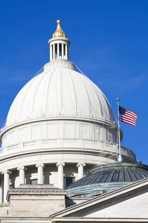 Little Rock, Arkansas - State Capitol royalty free stock images