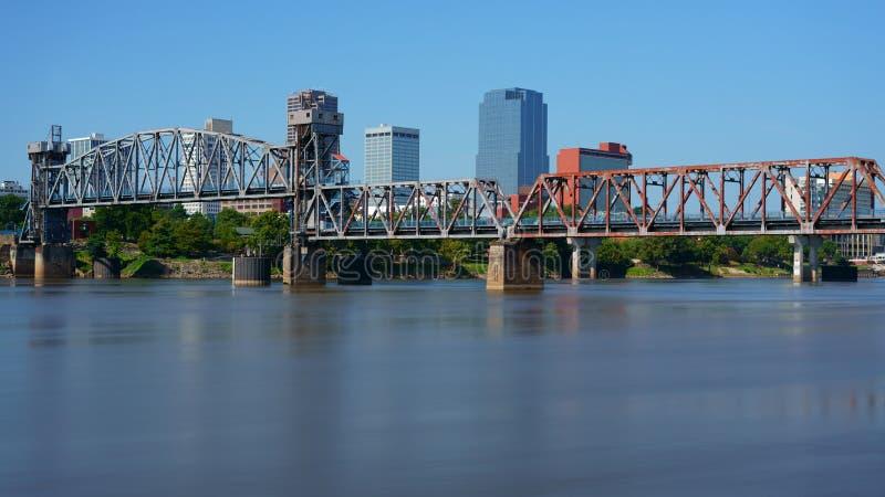 Little Rock, capital de Arkansas, los E.E.U.U. foto de archivo libre de regalías