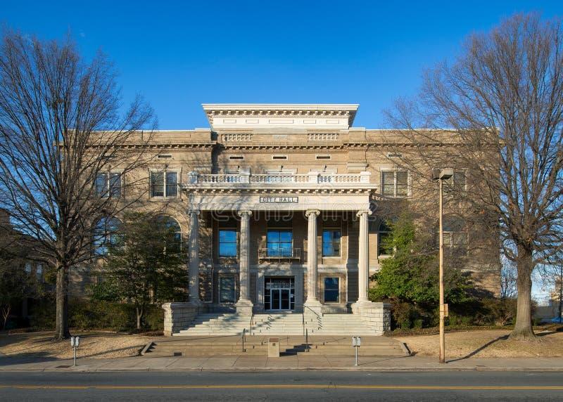 Little Rock City Hall. In Little Rock, Arkansas stock photo