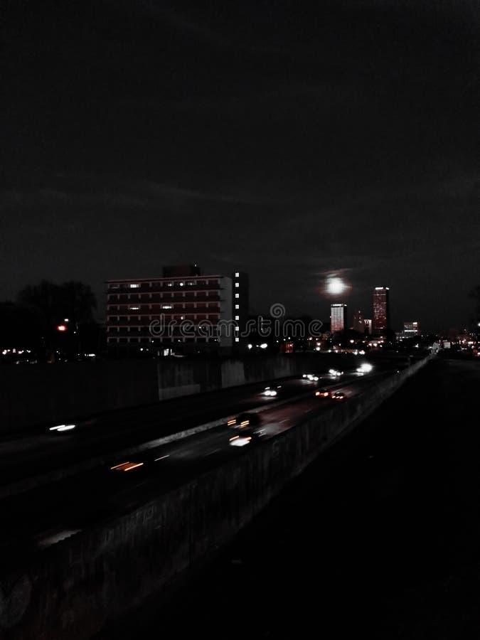 Little Rock trafik arkivfoton