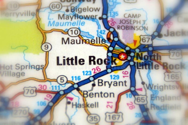 Little Rock, U S arkansas stanie fotografia stock