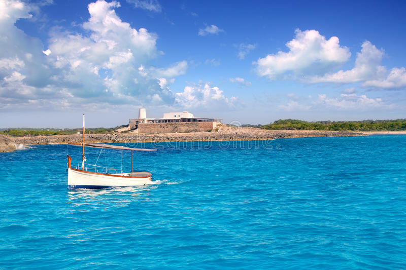 Download Little Sailboat In Formentera Stock Image - Image: 21745831