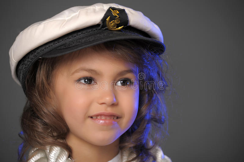 Download Little sailor stock image. Image of gazing, attractive - 19537197