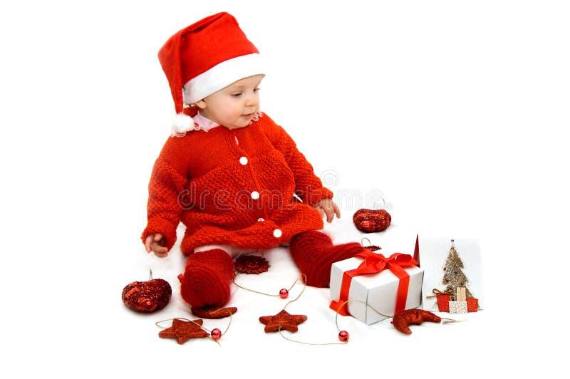 Little Santa Helper Royalty Free Stock Image