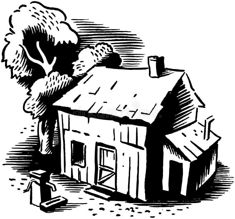 Little Shack vector illustration