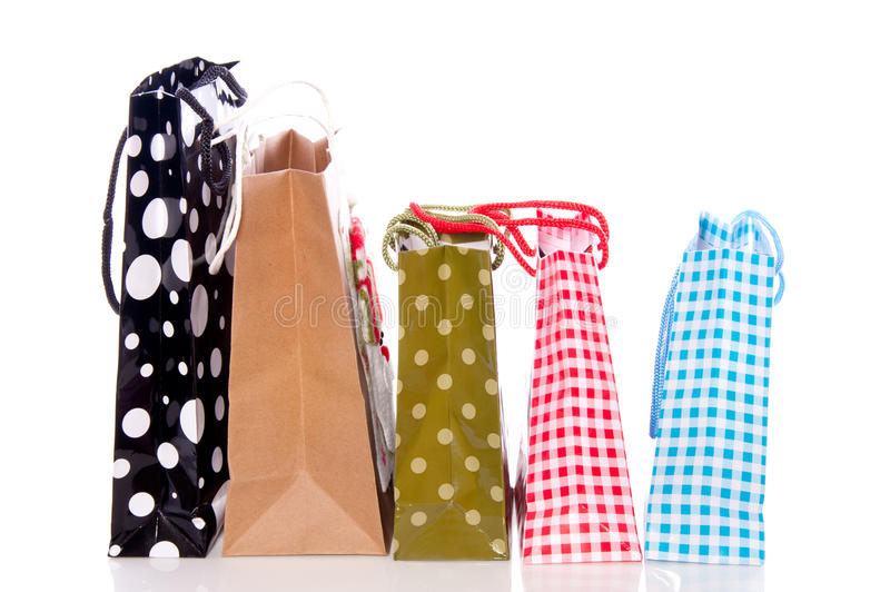 Download Little shopping bags stock image. Image of container - 19912511