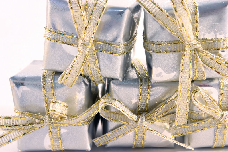 Little Silver Gifts 3 stock image