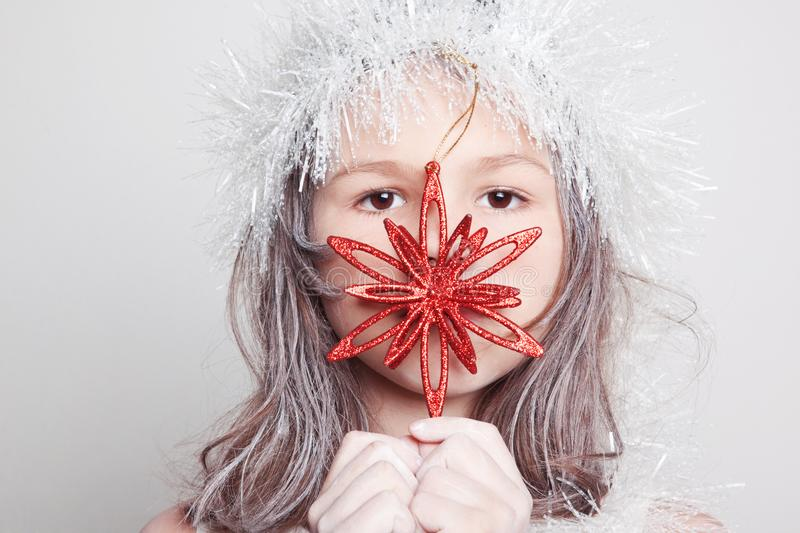 Little Snow Maiden stock images