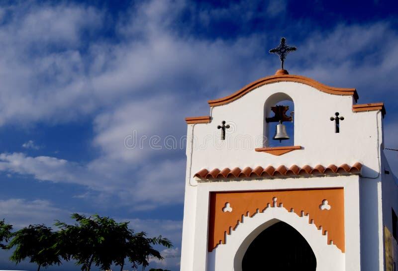 Little spanish church stock images