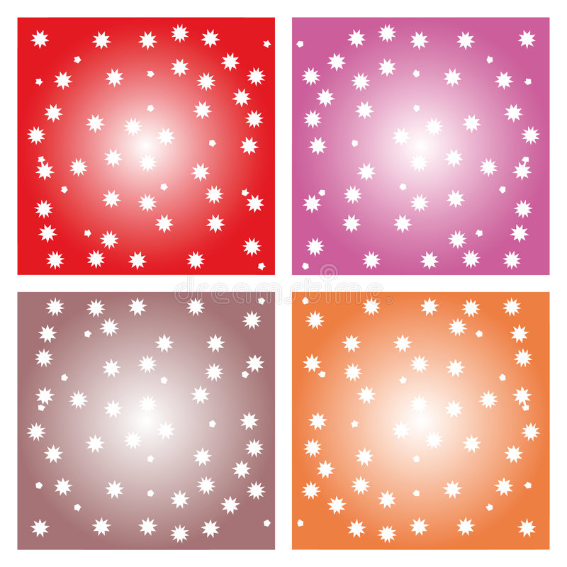 Download Little stars - background stock vector. Image of star - 6294669