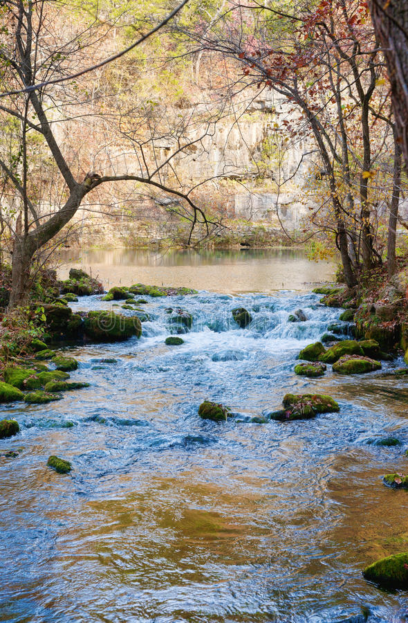 Download Little stream in missouri stock image. Image of autumn - 19712113