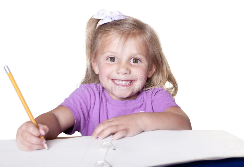 Download Little Student education stock image. Image of happy - 13826459