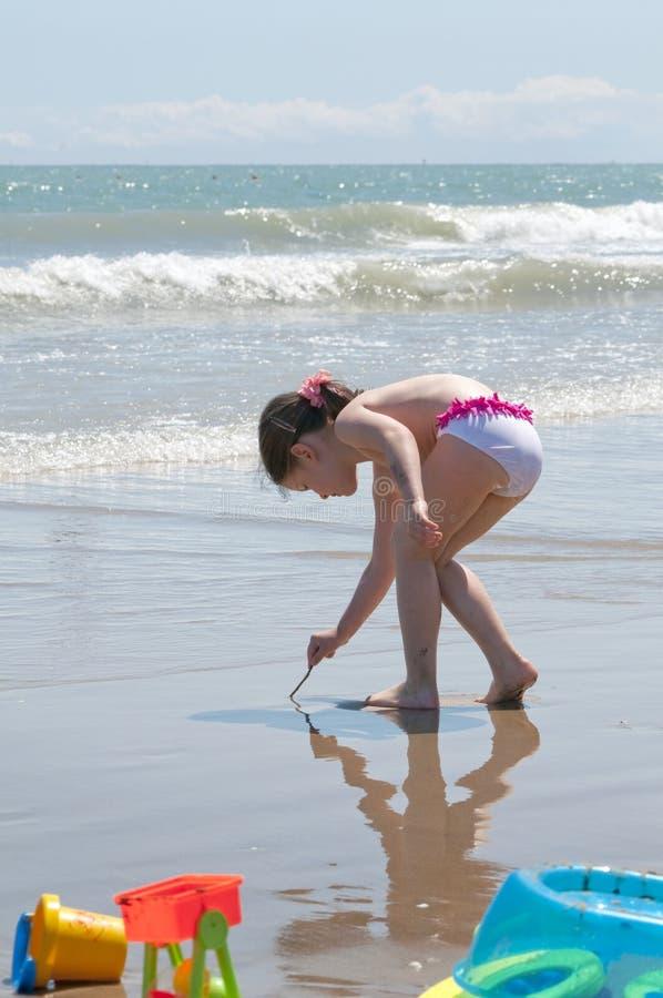 Download Little summer girl stock image. Image of sunny, girl - 18352717