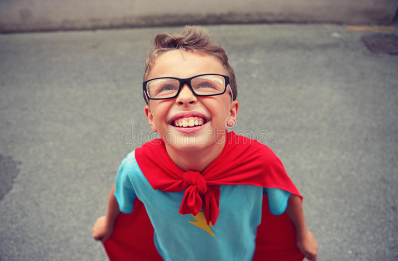 Download Little Superhero Royalty Free Stock Images - Image: 34901189